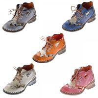 Mujer Piel Comfort Tobillo Zapatos Tma 5155 Mitad Zapatos Muchos Colores Botas
