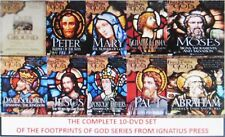 THE COMPLETE FOOTPRINTS OF GOD SERIES (10) DVD COMBO:W/STEPHEN RAY*10- DVDS