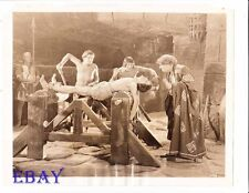 Barechested man on rack Ben Hur VINTAGE Photo