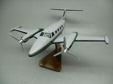 Piper PA-42 Cheyenne III Turboprop Airplane Mahogany Dried Wood Model Small New
