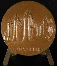 Medaille Château de Josselin armes blason Morbihan Bretagne Breizh 1975 medal