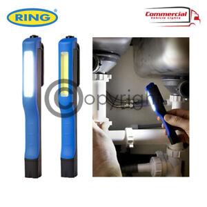 RING RIL54 LED COB PEN POCKET TORCH MAGNETIC INSPECTION WORK LAMP 110 LUMENS