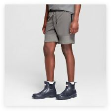 Hunter for Target Men's Athletic Shorts Grey Size Large NWT