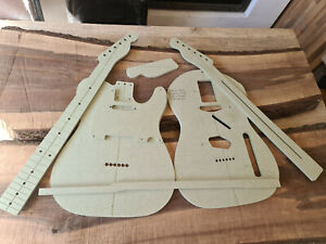 Telecaster Guitar Routing Template Set 9mm MR MDF