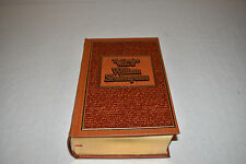 THE COMPLETE WORKS OF WILLIAM SHAKESPEARE LEATHER Easton like Canterbury Classic