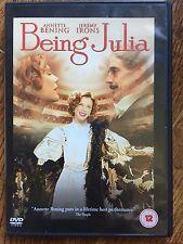Annette Bening Jeremy Irons BEING JULIA 2004 Oscar-Nominated Drama UK DVD