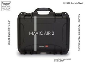 DJI Mavic Air 2 Drone Case Decal  for Nanuk Pelican GoProfessional GPC & More