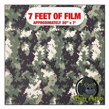 Hydrographic Film Army Green Tiger Stripe Digital Hydro Dip Dipping 7 X 20