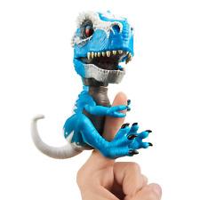 WowWee 3785 TRex Iron Jaw Fingerlings Untamed Toy - Blue