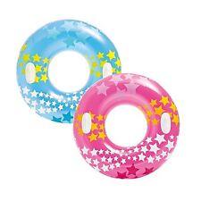 "2 Pack Intex Stargaze Tube 36"" Large Swim Ring Float Pool Beach Toy w/ Handle"