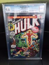 Incredible Hulk #178 - CGC 9.6 Off-White to White - Death & Rebirth of Warlock