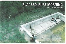 PLACEBO Pure Morning album & tour 1998 UK Press ADVERT 12x8 inches