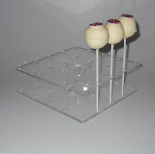 Cake Pop Stand-plaza en forma-posee 25 Cake Pops – BPS0082