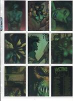 1993 MELTING POT - Comic Images - Complete Set of 90 All Chromium Trading Cards!