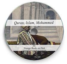 Teachings History Islam Koran Mohammed Rare Antique Books on DVD Quran Belief E8