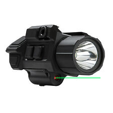 VISM GEN3 Pistol Flashlight w/Strobe & Green Laser w/Lifetime Warranty VAPFLSGV3