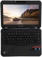 "Lenovo N21 11.6"" Chromebook Laptop Intel Celeron Dual Core 2.16GHz 2GB 16GB SSD*"
