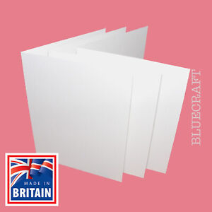 1000 box x 4 inch Square White Card Blanks - RSVPs Thank You Cards Tags Crafts