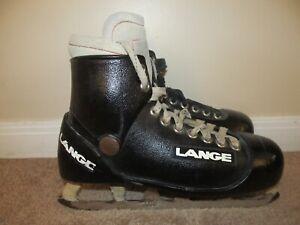VTG Size 7.5 Lange Molded Goalie Hockey Skates