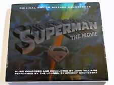 John Williams SUPERMAN THE MOVIE Christopher Reeves Soundtrack Rhino 2 CD Set VG