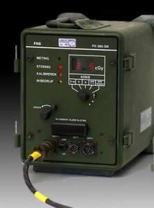 FAG Kugelfischer  Strahlungsmessgerät TDQ7050 IM7051 Radiation Surveillance Set