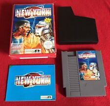 Nintendo NES PAL ACTION IN NEW YORK CIB Pal A Complete in box US SELLER