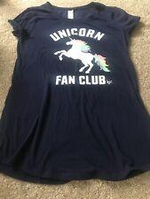 Girls, Justice, Navy Blue, Unicorn Club, Size 12