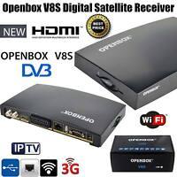 GENUINE OPENBOX V8S FULL HD Freesat PVR Smart TV Satellite Receiver Channel Box