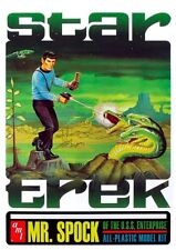 STAR TREK : MR SPOCK PLASTIC MODEL KIT WITH COLLECTORS TIN