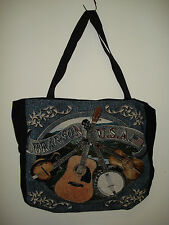New Mill Street Design Tapestry Canvas Tote Bag  Branson USA