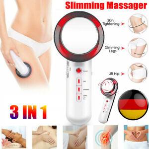 Ultraschall Massagegerät Kavitation 3in1 Fettabbau Entfernen Cellulite Maschine