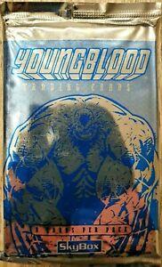 Youngblood Trading Cards OVP Sammelkarten 8 Karten 1995 Skybox