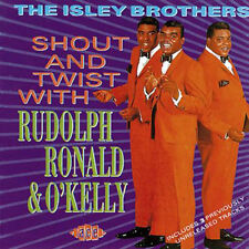 """THE ISLEY BROTHERS  """"SHOUT AND TWIST WITH RUDOLPH, RONALD & O'KELLY"""""""