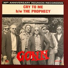 Gonn The Prophecy b/w Cry To Me MCCM Red Wax 45 w/PS