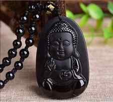 NEW 100% natural sculpture Buddhist boy pendant free testing certificate AA01