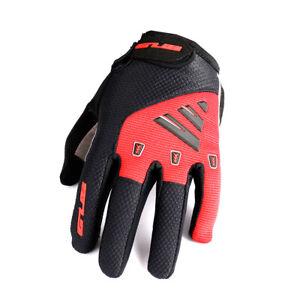 Full Finger Cycling Gloves Bike Touch Screen Unisex Shockproof Climbing GUB S029