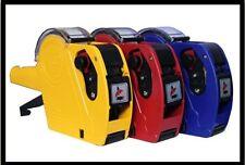 PISTOLA tag prezzo al dettaglio Prezzo Etichettatrice Kit + 11 ROTOLI ETICHETTE ADESIVI inchiostro di ricambio