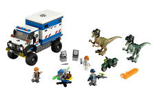 Lego Jurassic World Raptor Rampage 75917 Park Retired