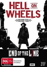 HELL ON WHEELS SEASON 5 PART 2 DVD, NEW & SEALED, 2017 RELEASE, R4, FREE POST