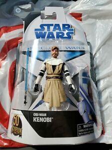 Star Wars Black Series The Clone Wars Target Exclusive Obi-Wan Kenobi In Hand!!!
