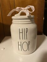 Rae Dunn Hip Hop Small Baby Canister ceramic New With Tags