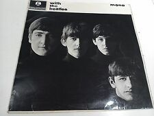 With The Beatles 2nd Press MONO Near Mint Vinyl LP Record PMC 1206