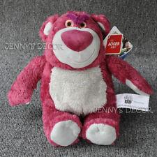 "Disney Pixar Toy Story 11"" Lotso Strawberry Bear Plush Stuffed Toy Soft Doll"