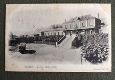 CPA. ELBEUF. 76 - La Gare d'ELBEUF-Ville. 1904.
