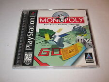 Monopoly (PlayStation PS1) Black Label Game Complete Excellent!