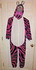 Jay at Play J-Animals Wearable Stuffed Animal Pink Zebra Plush Costume kids OS