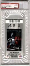 SUPER BOWL 40 XL TICKET SEATTLE SEAHAWKS PITTSBURGH STEELERS PSA AUTH HINES WARD
