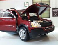 Volvo XC90 ES SE T6 D5 AWD 1:24 Ruby Red 2003 Welly 22460 Diecast Unboxed Model