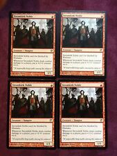 X4  Stromkirk Noble   MTG Magic   (see scan)