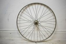 "1979 WEINMANN ALLOY RIM/ MAILLARD VINTAGE BICYCLE REAR 27 X 1 1/4"" WHEEL"